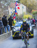 The Cyclist Angelo Tulik - Paris-Nice 2016 Stock Photo