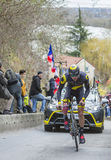 The Cyclist Antoine Duchesne - Paris-Nice 2016 Stock Images