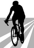Cyclist athlete man Stock Photos