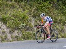 The Cyclist Bart De Clercq Royalty Free Stock Photos