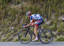 The Cyclist Bart De Clercq. Chorges, France- July 17, 2013: The Belgian cyclist Bart De Clercq from Lotto-Belisol Team pedaling during the stage 17 of 100th Stock Images