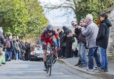 The Cyclist Ben Hermans - Paris-Nice 2016 Stock Photo