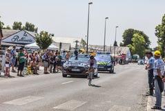 The Cyclist Blel Kadri Stock Images