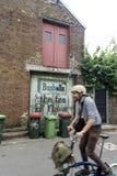 Cyclist Blur Redfern Sydney Royalty Free Stock Images