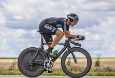 The Cyclist Boasson Hagen Royalty Free Stock Photo