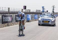 The Cyclist Boy van Poppel Royalty Free Stock Photos