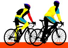 Cyclist boys Stock Photography