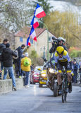 The Cyclist Bram Tankink - Paris-Nice 2016 Stock Photo