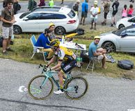 The Cyclist Bram Tankink - Tour de France 2015 Royalty Free Stock Images