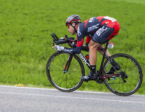 The Cyclist Cadel Evans Royalty Free Stock Photography