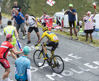 The Cyclist Chris Froome - Tour de France 2015 Stock Photography