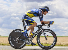 The Cyclist Chris Sorensen Royalty Free Stock Photo