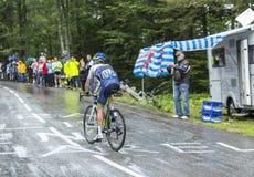 The Cyclist Christian Meier Stock Photo