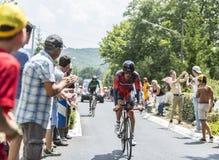 The Cyclist Daniel Oss - Tour de France 2014 Royalty Free Stock Photo