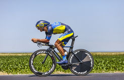 The Cyclist Daniele Bennati Royalty Free Stock Image