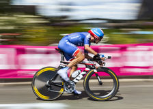 The Cyclist David Zabriskie Royalty Free Stock Photos