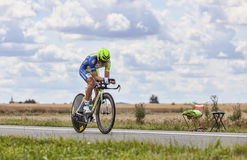 The Cyclist Dominik Nerz Stock Photos