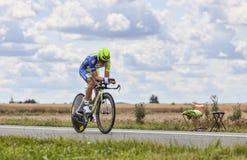 The Cyclist Dominik Nerz Stock Photos