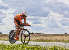 The Cyclist Egoi Martinez Stock Images