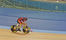 Cyclist Eloy Teruel Rovira of Spain royalty free stock photos