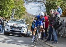 The Cyclist Fabio Sabatini - Paris-Nice 2016 Stock Images