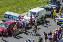The Cyclist Florian Vachon - Tour de France 2016 Stock Photo