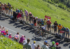 The Cyclist Florian Vachon - Tour de France 2016 Stock Photos