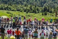 The Cyclist Florian Vachon - Tour de France 2016 Royalty Free Stock Photos