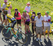 The Cyclist George Bennett - Tour de France 2016 Stock Photo