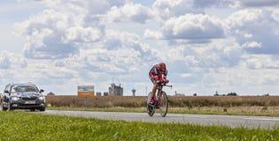 The Cyclist George Hincapie Royalty Free Stock Image