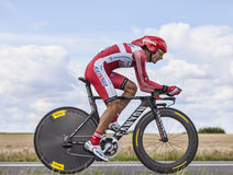 The Cyclist Giampaolo Caruso Royalty Free Stock Images