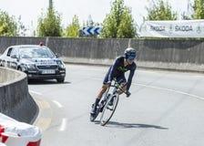 The Cyclist Giovanni Visconti - Tour de France 2014 Stock Images