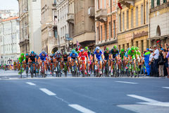 Cyclist, Giro d'Italia Royalty Free Stock Photography