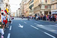 Cyclist, Giro d'Italia Royalty Free Stock Photos