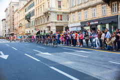 Cyclist, Giro d'Italia Stock Photo