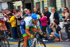 Cyclist, Giro d'Italia Royalty Free Stock Images