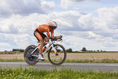 The Cyclist Gorka Izagirre Stock Photography