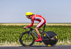 The Cyclist Guillaume Levarlet Royalty Free Stock Photography