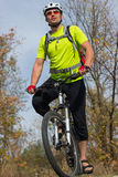 Cyclist. Stock Images