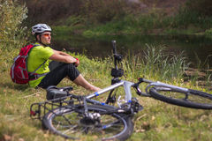 Cyclist. Stock Photography