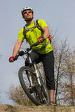 Cyclist. Royalty Free Stock Image