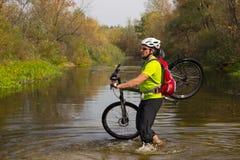 Cyclist. Royalty Free Stock Photo