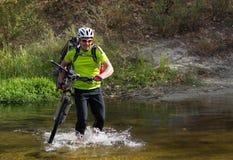 Cyclist. Stock Image