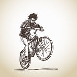 Cyclist Royalty Free Stock Photography