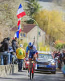 The Cyclist Ignatas Konovalovas - Paris-Nice 2016 Royalty Free Stock Image