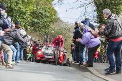 The Cyclist Ilnur Zakarin - Paris-Nice 2016 Royalty Free Stock Image