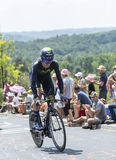 The Cyclist Imanol Erviti - Tour de France 2014 Royalty Free Stock Photography