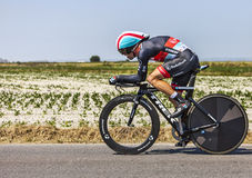 The Cyclist Jan Bakelants Royalty Free Stock Image