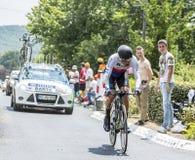 The Cyclist Jan Barta - Tour de France 2015 Royalty Free Stock Photos