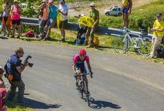 The Cyclist Jan Polanc - Tour de France 2016 Stock Photography